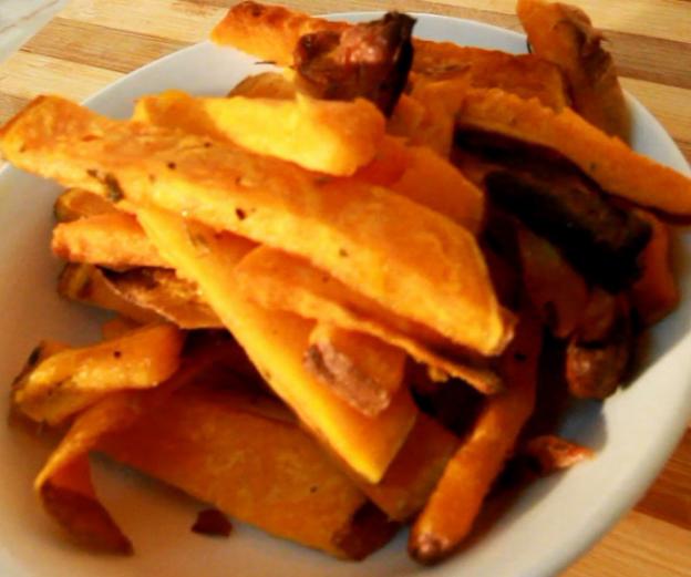 Chips van verschillende soorten groenten